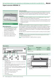 Signal converter SMO480-12 - Bender Benelux BV