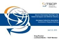 Transglobal Secure Collaboration Program - Aerospace Industries ...