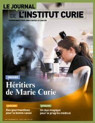 Novembre 2011 - Institut Curie
