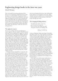 Engineering design books in the inter-war years | David Yeomans