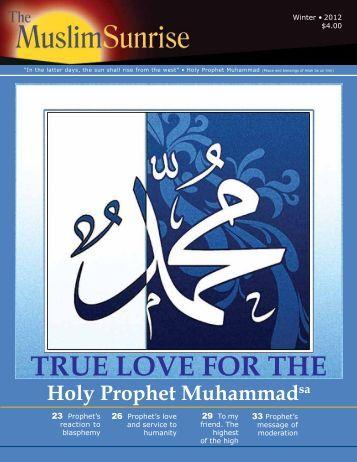 2012, IV - The Muslim Sunrise