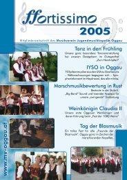 w w w .m v -o g g a u .a t - Musikverein Oggau