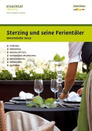 Hotelführer - Sterzing