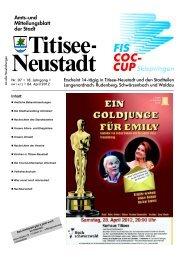 Osterkonzert - Titisee-Neustadt