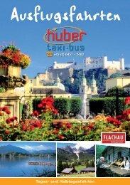 Ausflugsfahrten - Huber Reisen - Flughafentransfer