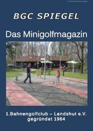 02 Juli 2013 kostenlose Ausgabe - BGC Landshut