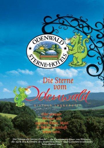Katalog als PDF - Odenwald-Sterne-Hotels