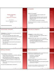 Collocation Collocations & colligations Defining ... - Indiana University