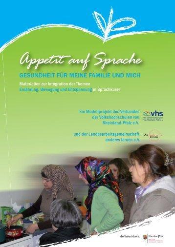 Appetit auf Sprache - Landesarbeitsgemeinschaft anderes lernen