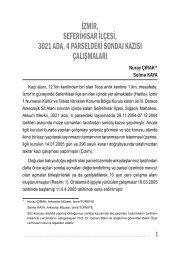 16x23 MÜZE KURTARMA.indd - Kültür ve Turizm Bakanlığı