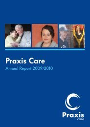 2010 Annual Report - Praxis Care