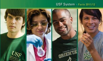 USF System Facts 2011/12 - University of South Florida System