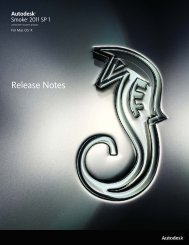 Release Notes - Autodesk