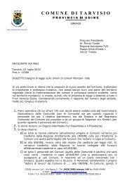 Comune di Tarvisio - Sistema delle autonomie locali