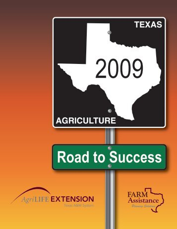 2009 Annual Report - AgriLife.org
