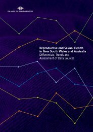 Reproductive and Sexual Health in New South Wales and Australia ...
