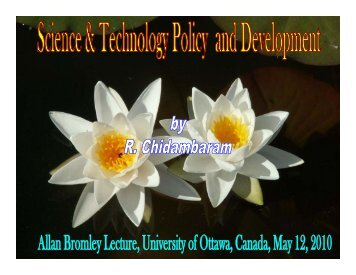View the PDF of Dr. Chidambaram's talk - ArtSites