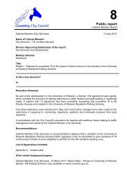 Petition - Request for Part of Charter Avenue to be Included in the ...