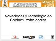 Novedades y Tecnología en Cocinas Profesionales - Catering.com.co