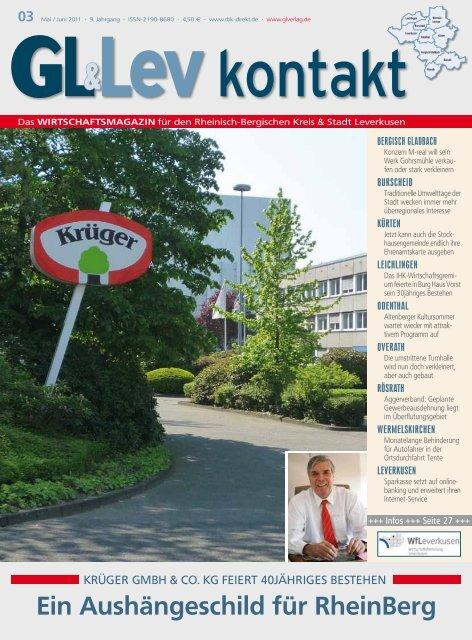 Ein Aushängeschild für RheinBerg - GL VERLAGS GmbH