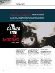 The Darker Side of Shooting - Clay Shooting USA