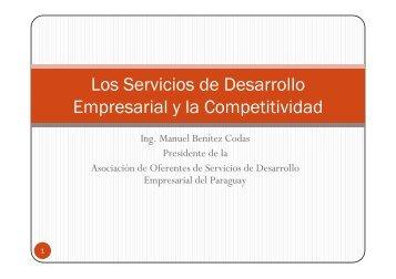 Los Servicios de Desarrollo Empresarial y la Competitividad