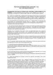PORTARIA INTERMINISTERIAL MAPA/MF nº 591, DE 12 DE ... - Udop