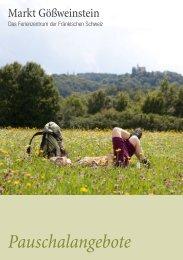 Zum Angebot (PDF) - Ferienzentrum Gößweinstein