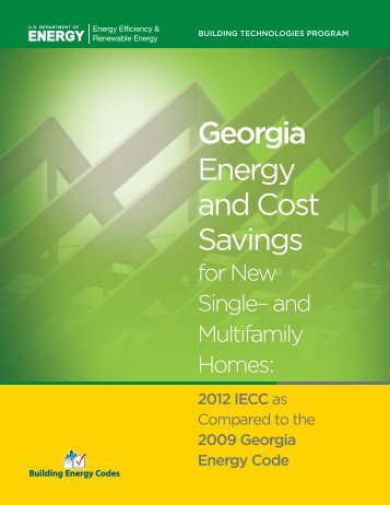 Georgia - Building Energy Codes
