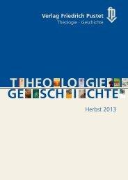 Verlagsvorschau Herbst 2013 - Verlag Friedrich Pustet
