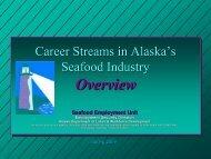 Career Streams Overview - Alaska Job Center Network