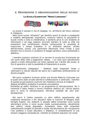 descrizione dettagliata - Scuola Primaria Longhena