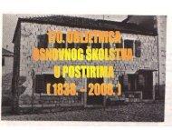 170. obljetnica osnovnog Å¡kolstva u Postirima - Osnovna Å¡kola ...