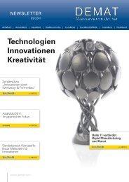 Technologien Innovationen Kreativität - EuroMold