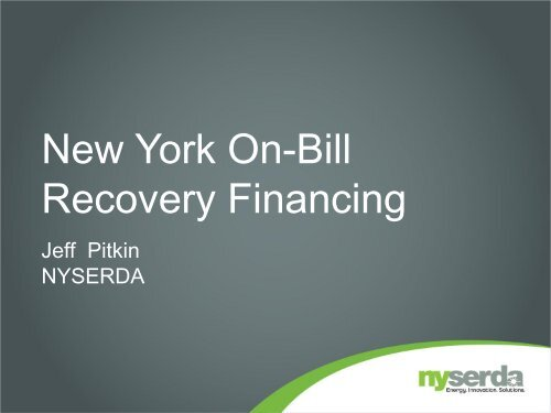 nyserda - National Association of State Energy Officials