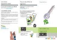 Les aides au logement.indd - centre ressources information ...
