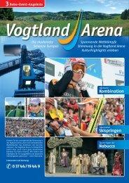 0 37 44 / 19 44 9 Reise-Event-Angebote 3 - Vogtland-Arena