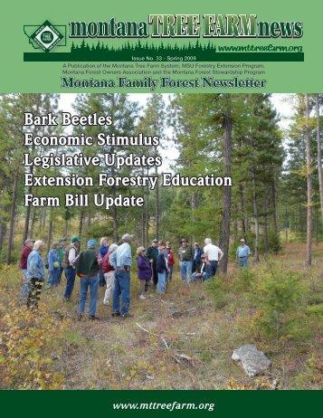 Bark Beetles Economic Stimulus Legislative Updates Extension ...