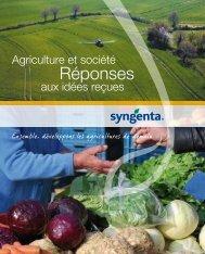 Réponses aux idées recues - Syngenta