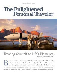 Personal Traveler The Enlightened Personal Traveler The Enlightened