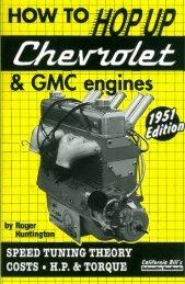 how to hop up chevrolet & gmc engines - CaliforniaBills.com