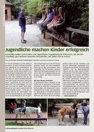Jugendliche machen Kinder erfolgreich - Birseck Magazin