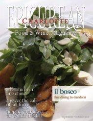 il bosco - Epicurean Charlotte Food & Wine Magazine