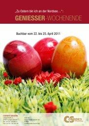 GENIESSER-WOCHENENDE - Cordes Sievern
