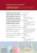 GENIESSER-WOCHENENDE - Cordes Sievern - Seite 2