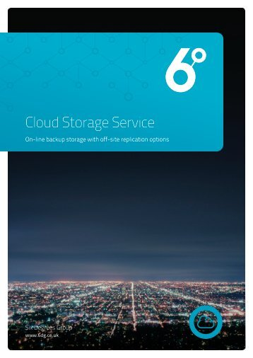 Cloud Storage Service Six Degrees Group