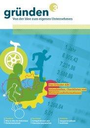 Von der Idee zum eigenen Unternehmen - Kanton Aargau