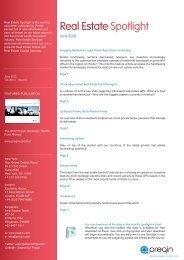 Real Estate Spotlight - June 2012 - Preqin