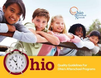 Quality Guidelines For Ohio's Afterschool Programs - Statewide ...