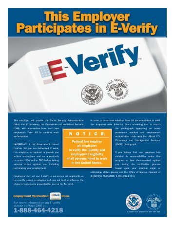 E-Verify program